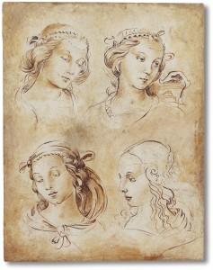 """Alcune """"donne"""" di Raffaello realizzate da Mariani Affreschi"""