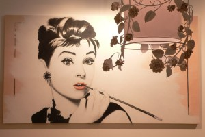 La magica Audrey Hepburn in un affresco Mariani (Fonte Evgeny Utkin, Expert)