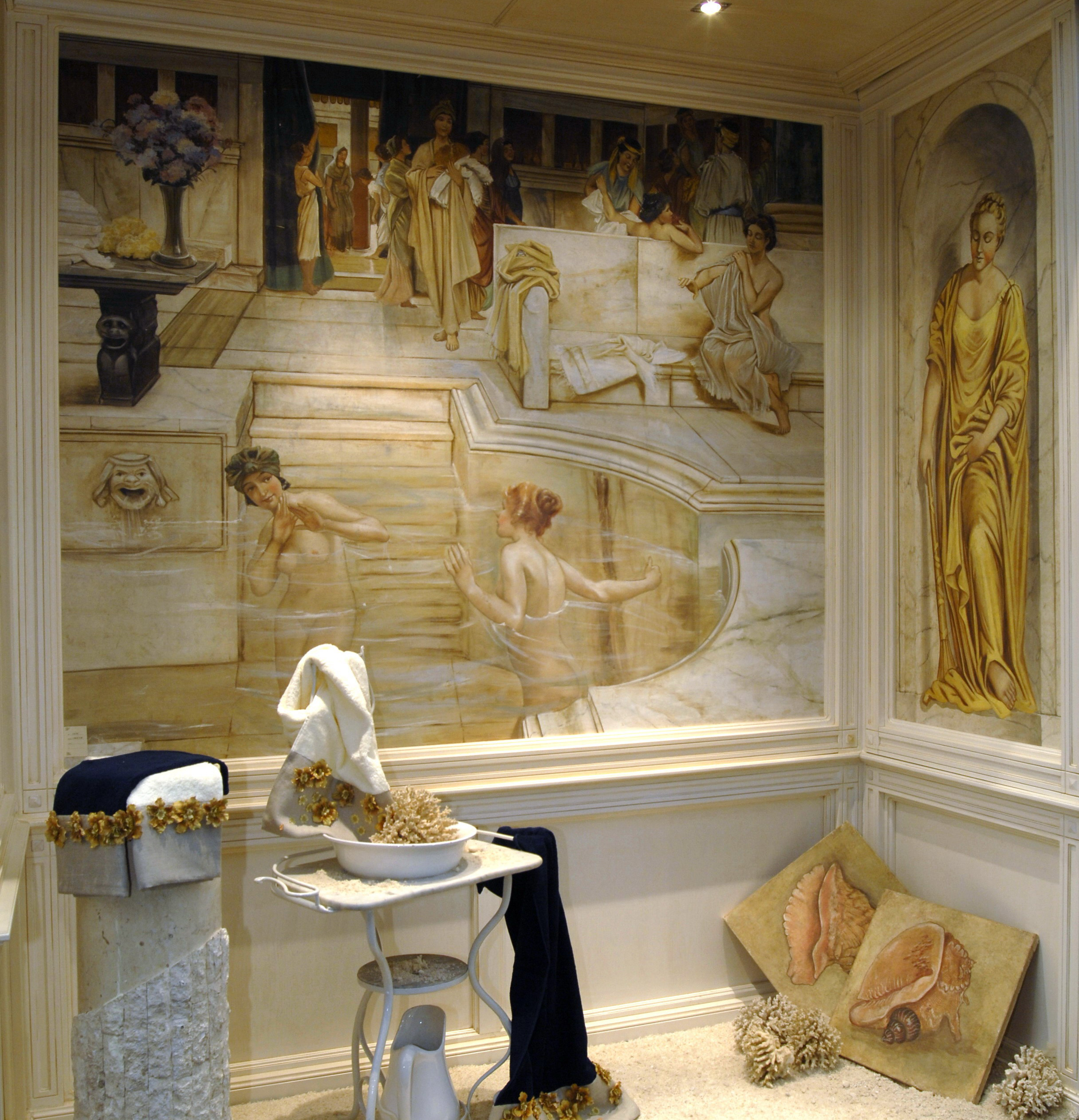 Tra romanticismo e nostalgia gli affreschi di alma tadema - Ragazze spiate in bagno ...