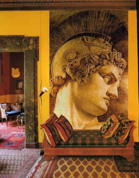 Ecco un'opera delle nuova collezione Mariani. Il viso del condottiero romano esce dal quadro e arriva a noi con tutta la sua storia e la sua intensità.