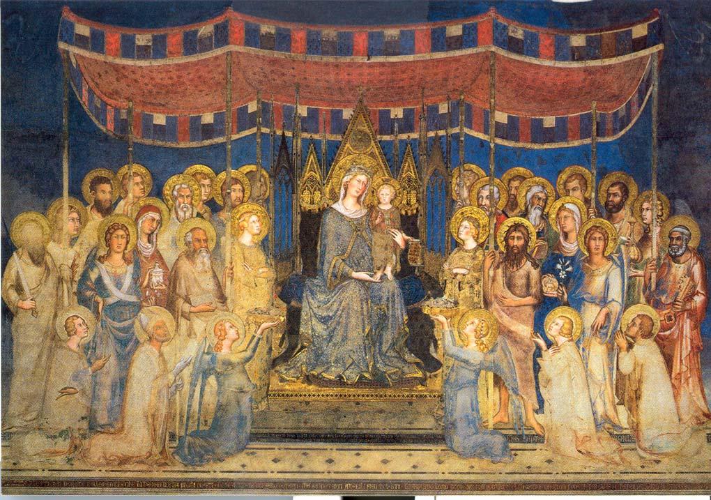 Maestà di Simone Martini, Palazzo Pubblico (Siena), 1315-1321