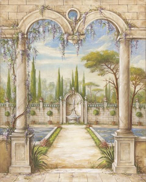 Come guardare da una finestra, il paesaggio firmato Mariani Affreschi da scoprire alla fiera Crocus Expo