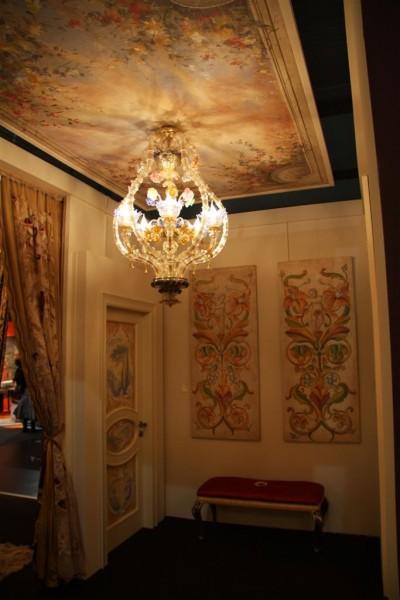 Le porte Bertolotto affrescate con i dipinti di Mariani Affreschi