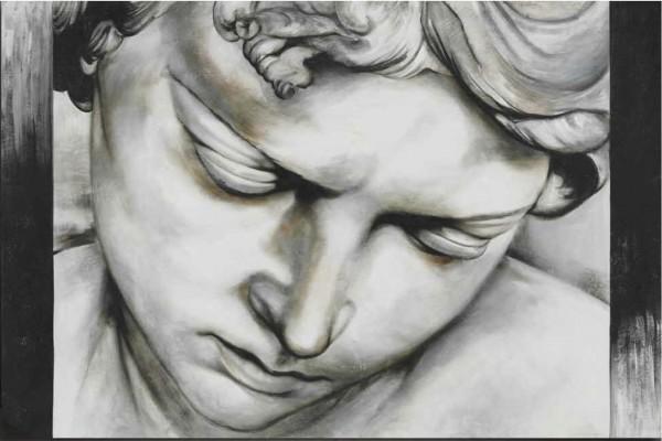 L'espressione di un volto che riflette, soffre, si abbandona a una sublime dolcezza