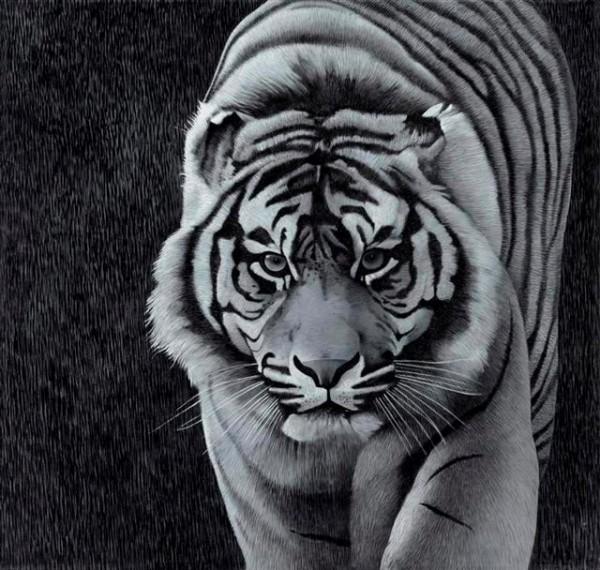 La tigre della collezione Arte Mariani