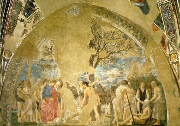 Piero della Francesca, Morte di Adamo