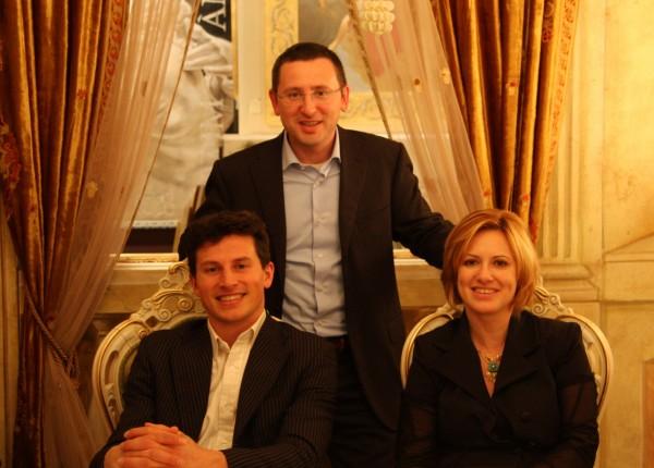 Alberto, Alessandro e Laura Mariani, titolari dell'azienda