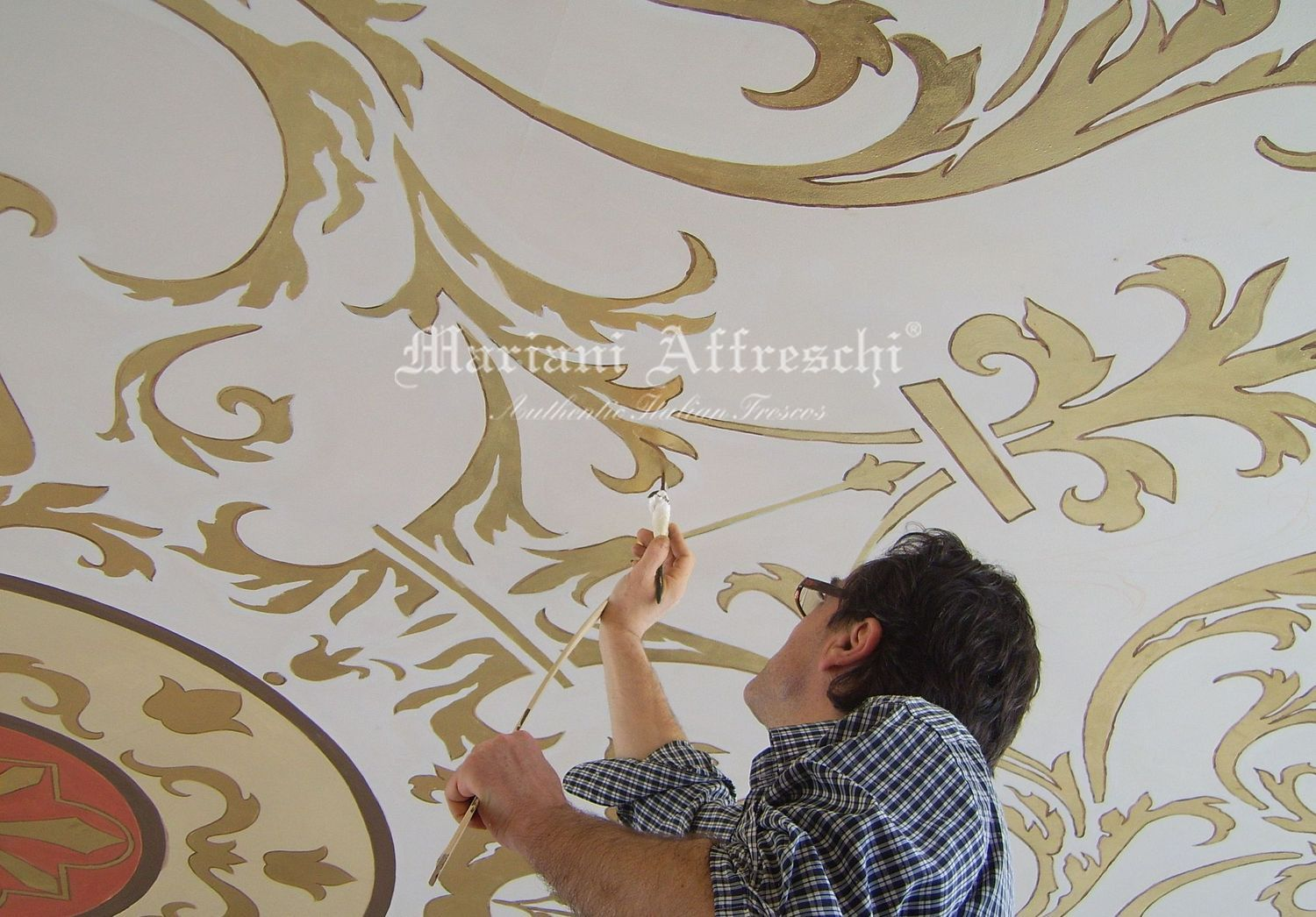 Italian frescos blog ceiling frescoes and decorations for Decorazioni da soffitto