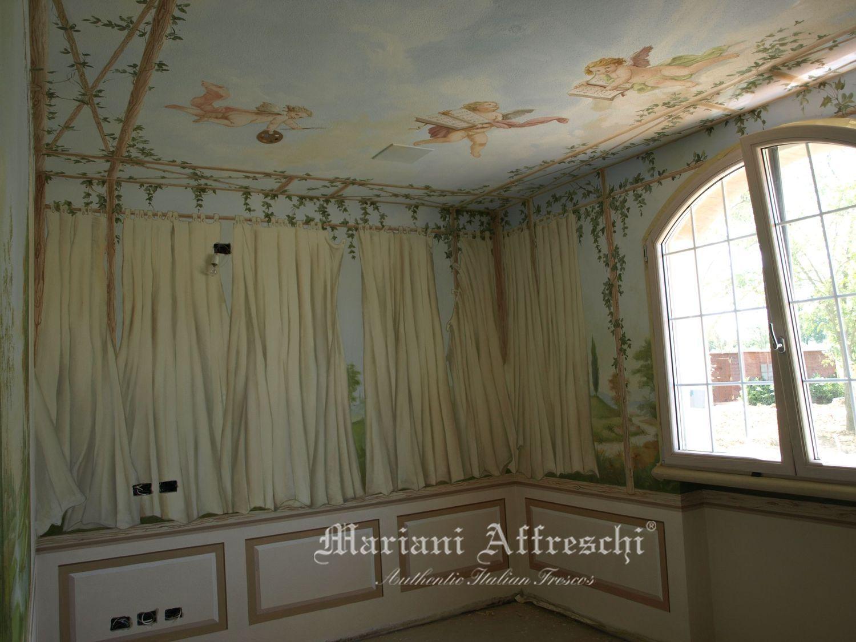 Il blog dell 39 affresco affreschi e decorazioni a soffitto - Decorazioni soffitto ...