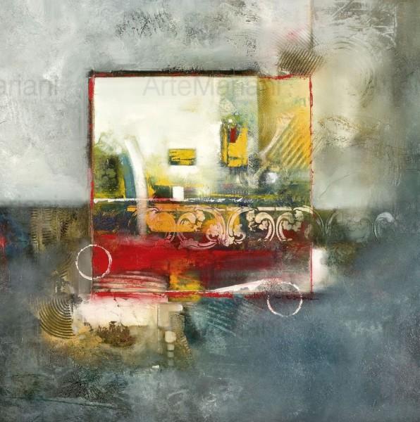 Frammenti di idee, opera della nuova collezioni di Mariani Affreschi dell'artista Ron