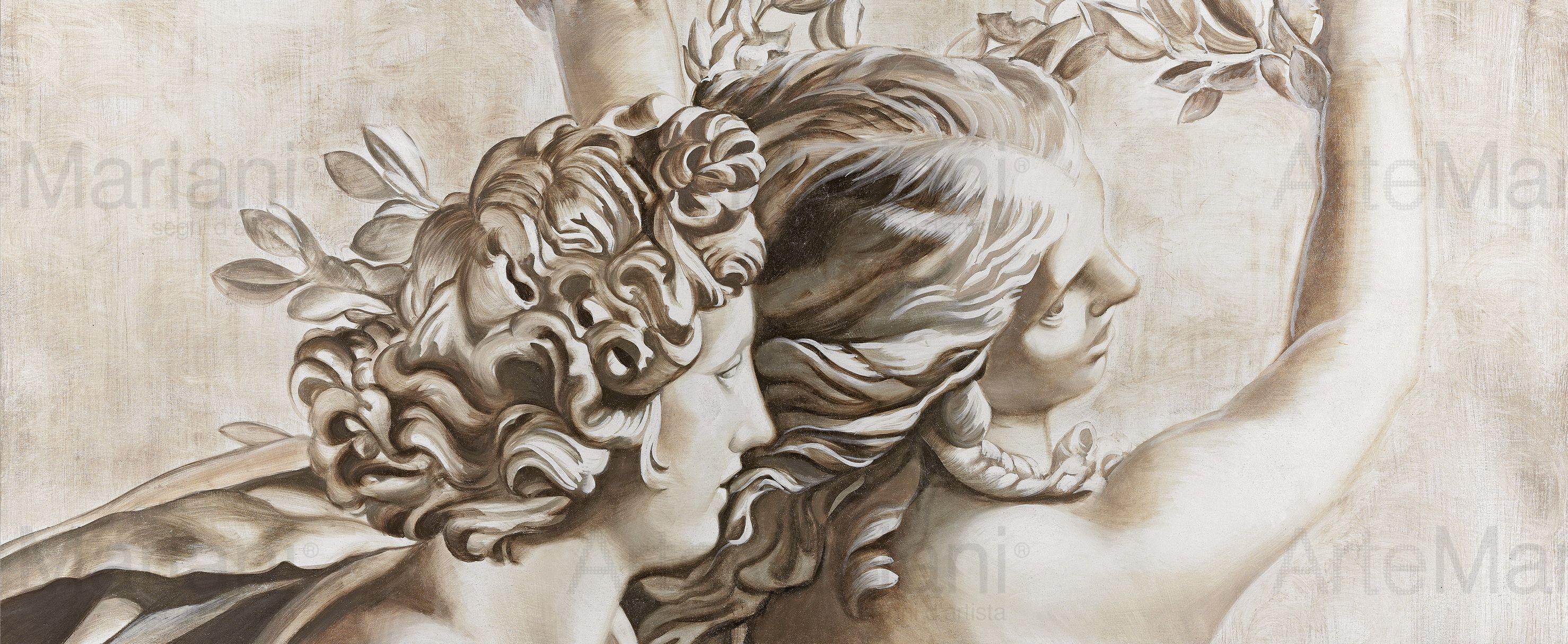 Il blog dell 39 affresco nuove atmosfere d arredo le for Arte nell arredo