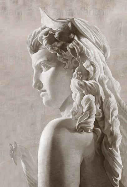 La regina d'Egitto Cleopatra in un'opera intensa, ricca di fascino e femminilità