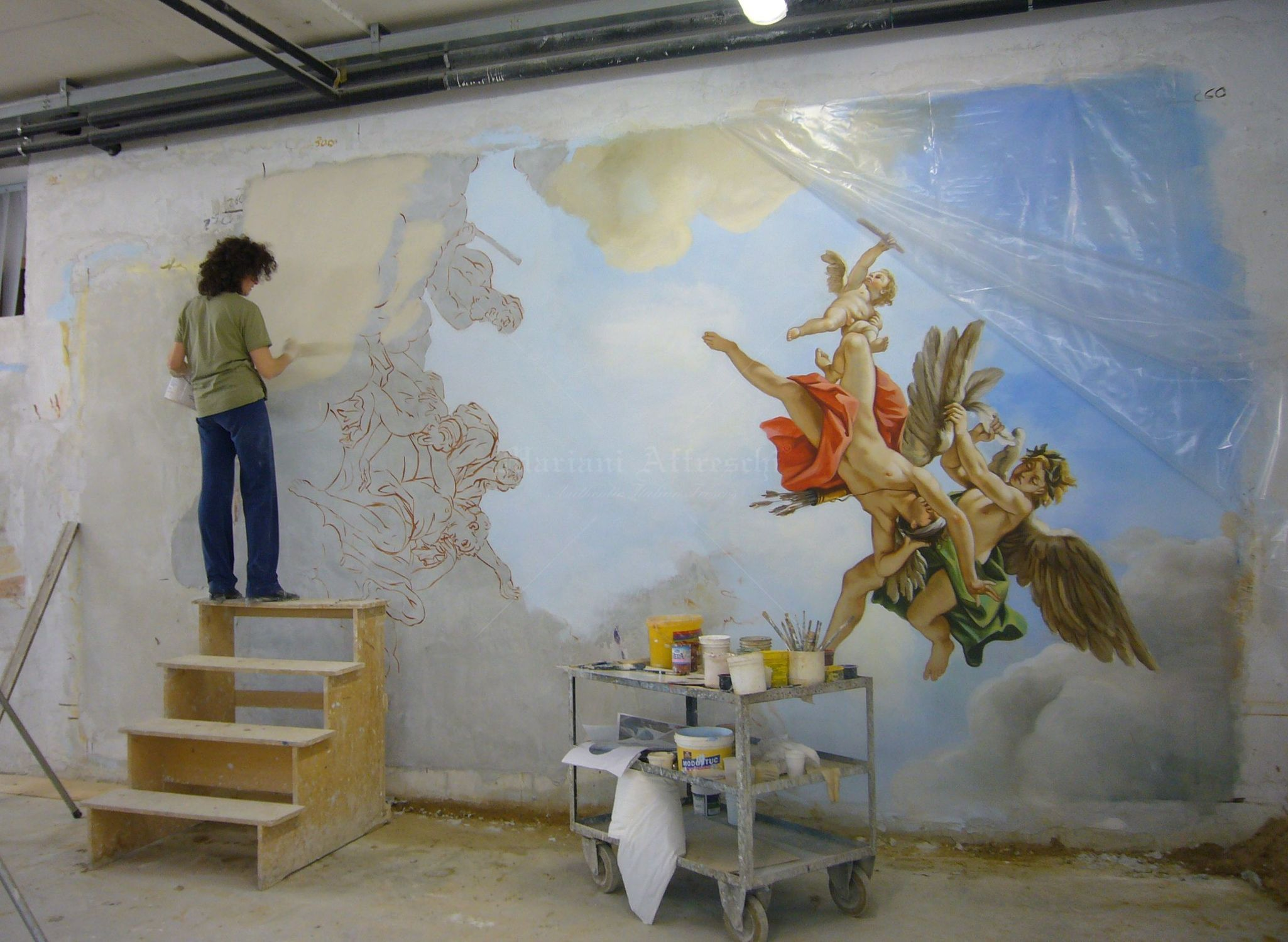 Molto Italian Frescos - Blog | OVERSIZED FRESCOES, PAINTINGS AND PICTURES XD15