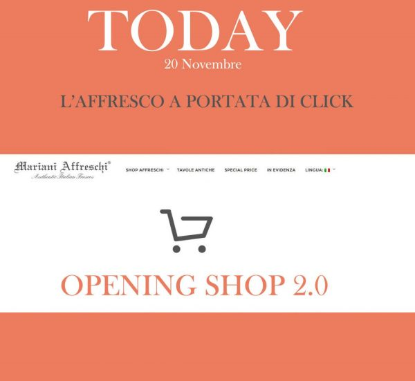 2.0 event for the opening of the online shop