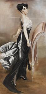 Tutta l'eleganza delle donne del Boldini in una riproduzione firmata Mariani Affreschi