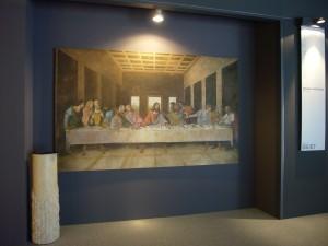 Un affresco dell'Ultima Cena realizzato da Mariani Affreschi