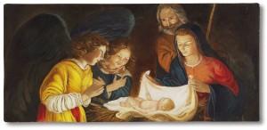 Adorazione (particolare) Gherardo delle Notti (1590-1656) Uffizi (Firenze)