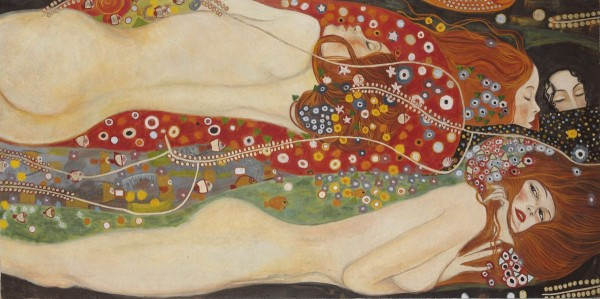 Le donne di Klimt in un affresco realizzato dagli artisti di Mariani