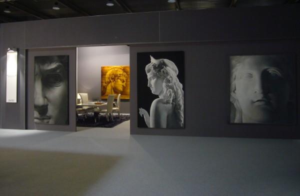 Arte Mariani è il nuovo marchio di Mariani Affreschi: ecco alcune opere della nuova collezione esposte ad Abitare il tempo 2010
