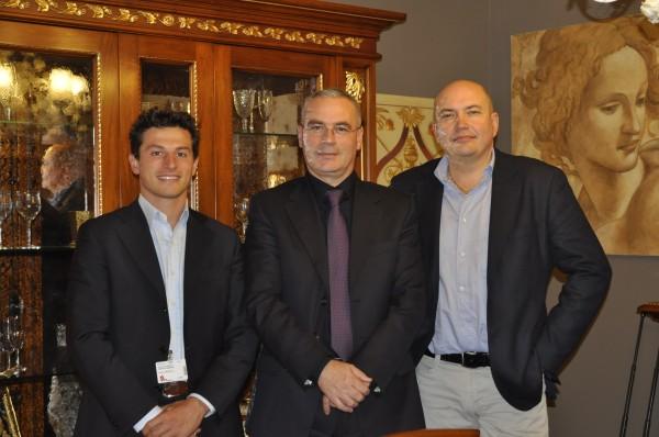 Alberto Mariani al Crocus Expo di Mosca insieme a Gianluca Morello, titolare della Bakokko Group, con cui è nata una recente e importante collaborazione