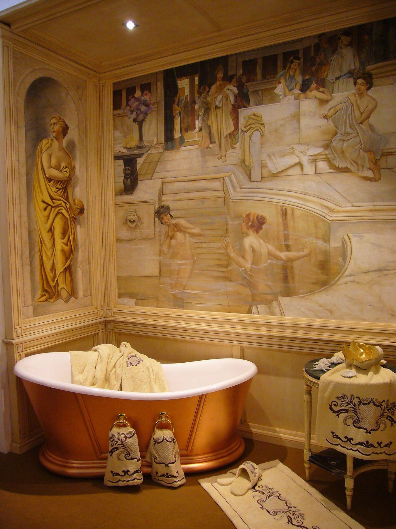 Il blog dell 39 affresco affreschi e arredamento - Ragazze in bagno ...