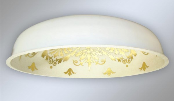 La cupola affrescata by Mariani è leggera e resistente, oltre che facile da installare