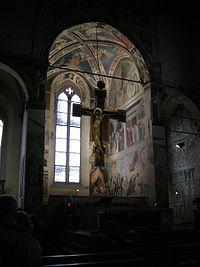 Piero della Francesca - La cappella Maggiore di San Francesco, Arezzo