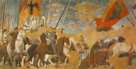 Piero della Francesca - Vittoria di Costantino su Massenzio, Arezzo