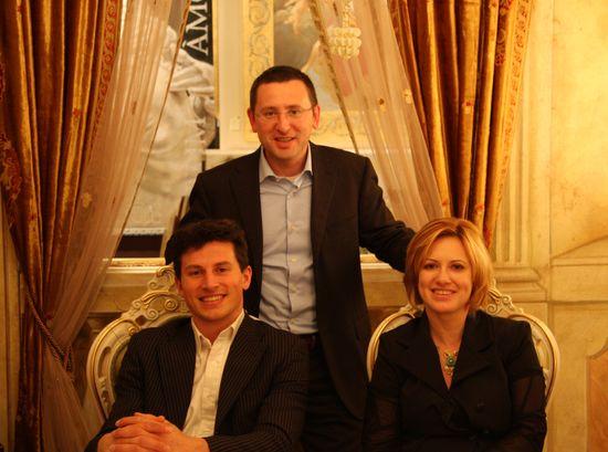 Fratelli Mariani. Laura, Alessandro e Alberto