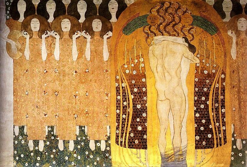 Il Fregio di Beethoven di Gustav Klimt (Vienna, 1902)