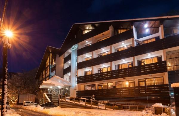 Gli esterni di Hotel Villa Adriano, inaugurato in occasione delle Olimpiadi Invernali di Sochi