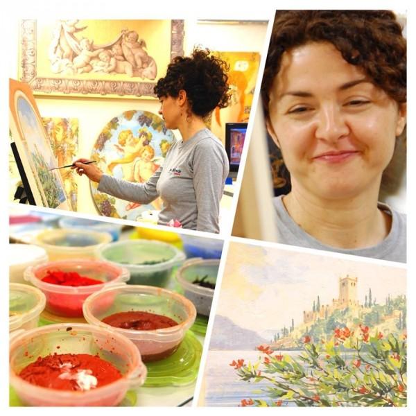 02-artista-mariani-affreschi-dimostrazione-mitsukoshi.nihombashi