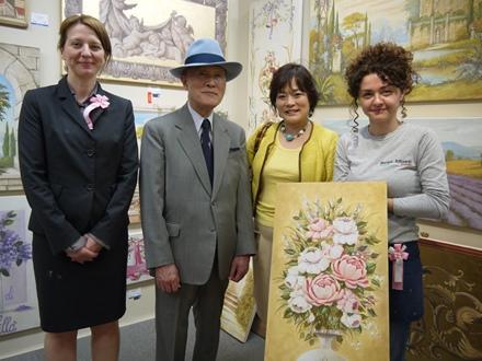 03-artista-mariani-affreschi-dimostrazione-mitsukoshi.nihombashi