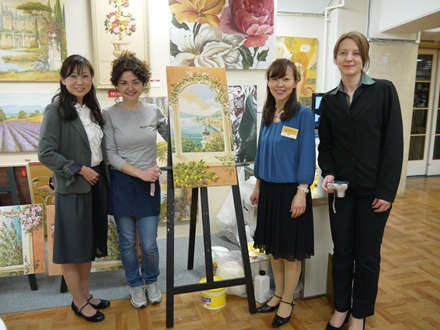 04-artista-mariani-affreschi-dimostrazione-mitsukoshi.nihombashi