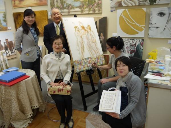 Tutta la magia dell'affresco emoziona il Giappone per l'evento di Tokyo dedicato all'arte italiana