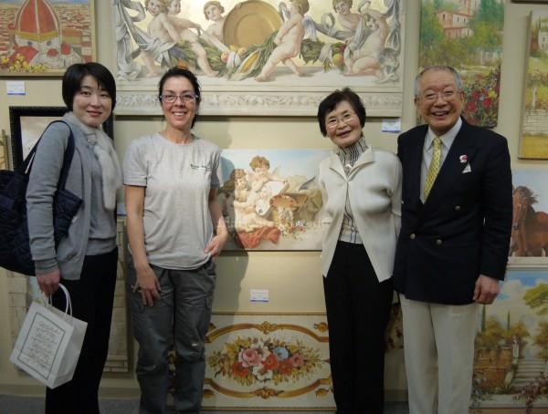 Il Giappone incontra l'Italia per l'evento internazionale a cui Mariani Affreschi partecipa ogni anno in collaborazione con Gallery Sumire