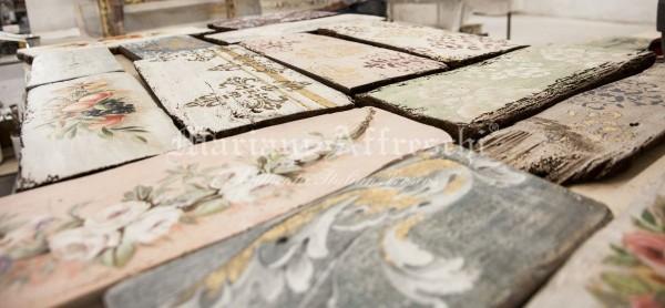 Una raccolta di tavole antiche dipinte dagli artisti di Mariani