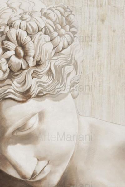 Profilo di Venere, una delle opere Mariani che racconta i nuovi spazi del contemporaneo
