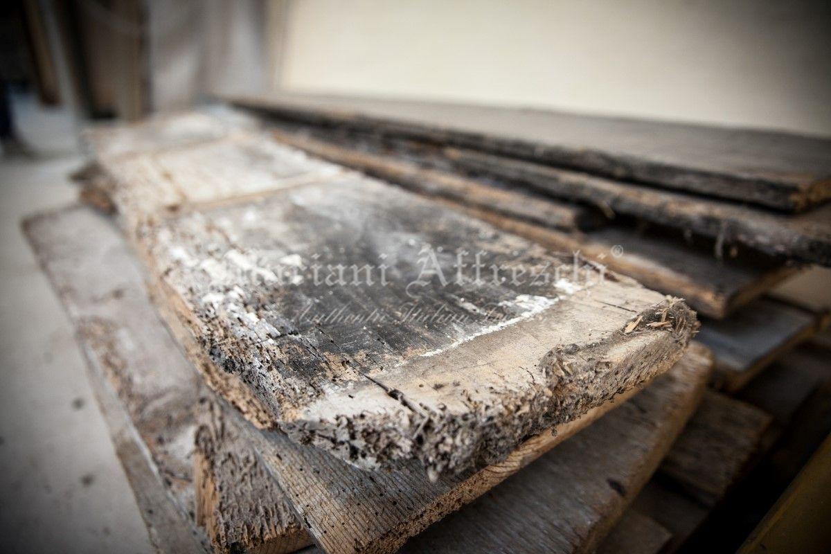 Assi Di Legno Decorate : Carta da parati motivo assi di legno europosters