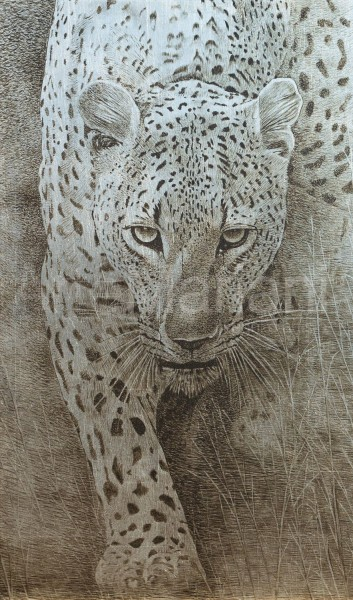 Il tema animalier è sempre interessante per creare uno spazio d'interni originale. Ecco il Leopardo by ArteMariani