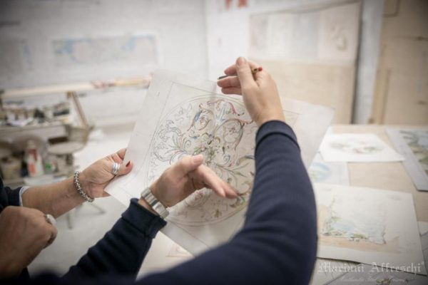 For 30 years, Mariani Affreschi has been creating high-quality frescoes and decorations for customers all over the world