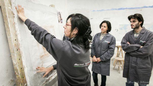 01-Mariani Affreschi Academy_Scuola di Pittura ad Affresco
